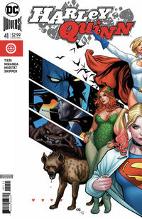 Cover Thumbnail for Harley Quinn (DC, 2016 series) #41 [Frank Cho Variant Cover]