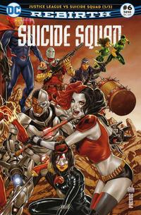 Cover Thumbnail for Suicide Squad Rebirth (Urban Comics, 2017 series) #6