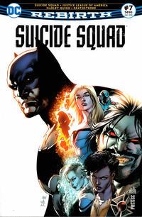 Cover Thumbnail for Suicide Squad Rebirth (Urban Comics, 2017 series) #7