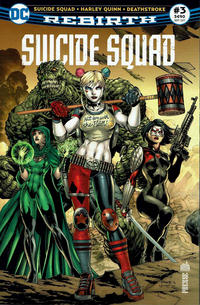 Cover Thumbnail for Suicide Squad Rebirth (Urban Comics, 2017 series) #3