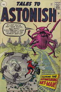 Cover Thumbnail for Tales to Astonish (Marvel, 1959 series) #39 [British]