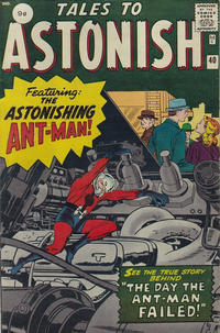 Cover Thumbnail for Tales to Astonish (Marvel, 1959 series) #40 [British]