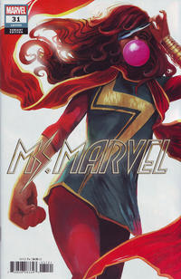 Cover Thumbnail for Ms. Marvel (Marvel, 2016 series) #31 [Variant Edition]