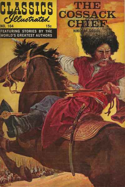 Cover for Classics Illustrated (Gilberton, 1947 series) #164 [O] - The Cossack Chief [HRN 167]
