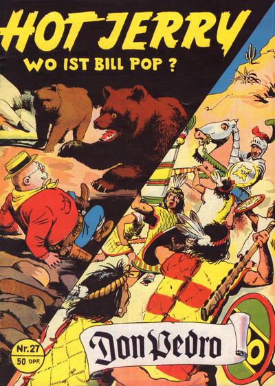 Cover for Hot Jerry (Norbert Hethke Verlag, 1992 series) #27