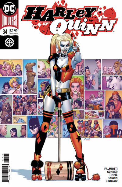 Cover for Harley Quinn (DC, 2016 series) #34 [Frank Cho Cover]