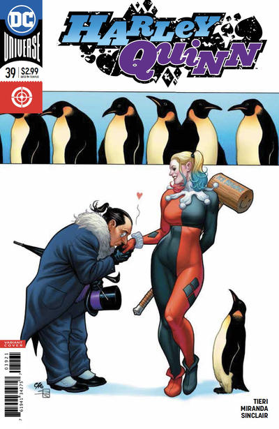 Cover for Harley Quinn (DC, 2016 series) #39 [Frank Cho Cover]