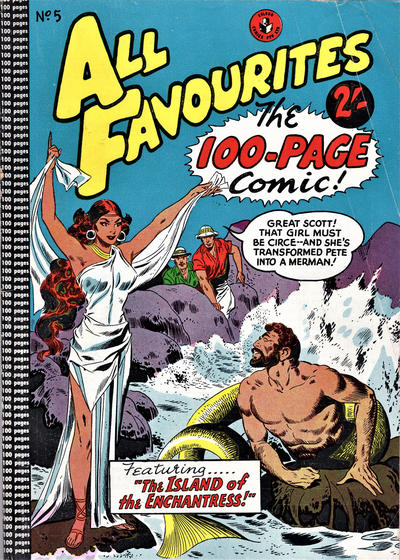 Cover for All Favourites, The 100-Page Comic (K. G. Murray, 1957 ? series) #5
