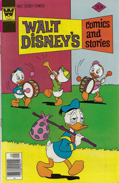 Cover for Walt Disney's Comics and Stories (Western, 1962 series) #v37#12 (444) [Gold Key]