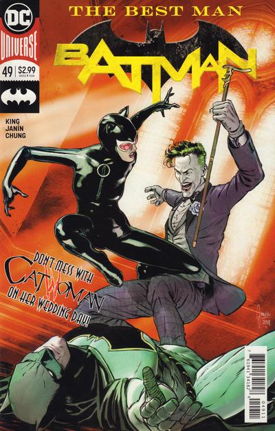 "Cover for Batman (DC, 2016 series) #49 [Stanley ""Artgerm"" Lau Variant Cover]"