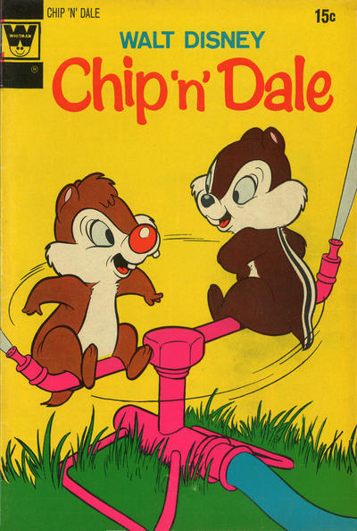 Cover for Walt Disney Chip 'n' Dale (Western, 1967 series) #17 [Whitman]