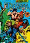 Cover for Tarzan (Atlantic Förlags AB, 1977 series) #1/1986