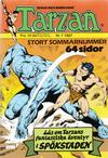 Cover for Tarzan (Atlantic Förlags AB, 1977 series) #7/1987