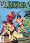 Cover for Tarzan (Atlantic Förlags AB, 1977 series) #12/1988