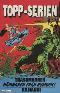 Cover Thumbnail for Topp-serien [Toppserien] (Semic, 1977 series) #1/1978