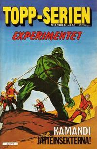 Cover Thumbnail for Topp-serien [Toppserien] (Semic, 1977 series) #3/1978