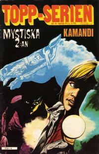 Cover Thumbnail for Topp-serien [Toppserien] (Semic, 1977 series) #4/1978