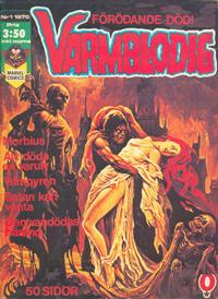 Cover Thumbnail for Varmblodig (Red Clown, 1974 series) #1/1975