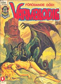 Cover Thumbnail for Varmblodig (Red Clown, 1974 series) #2/1975