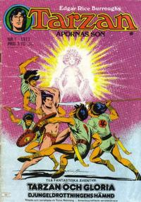Cover Thumbnail for Tarzan (Atlantic Förlags AB, 1977 series) #1/1977