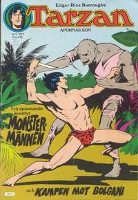 Cover Thumbnail for Tarzan (Atlantic Förlags AB, 1977 series) #3/1977
