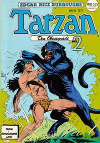 Cover Thumbnail for Tarzan (Atlantic Förlags AB, 1977 series) #18/1977