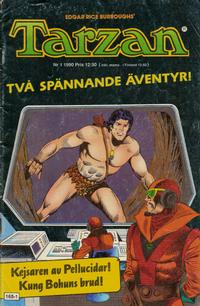 Cover Thumbnail for Tarzan (Atlantic Förlags AB, 1977 series) #1/1990