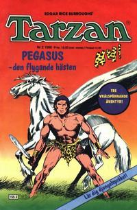 Cover Thumbnail for Tarzan (Atlantic Förlags AB, 1977 series) #2/1990