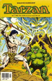 Cover Thumbnail for Tarzan (Atlantic Förlags AB, 1977 series) #5/1990