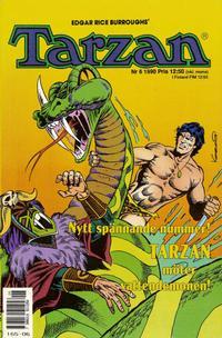Cover Thumbnail for Tarzan (Atlantic Förlags AB, 1977 series) #6/1990
