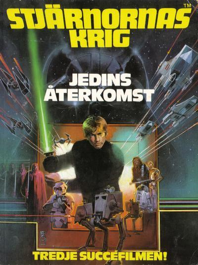 Cover for Stjärnornas krig (Semic, 1977 series) #6