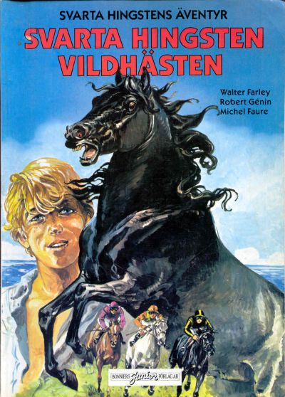 Cover for Svarta Hingstens äventyr (Bonniers, 1983 series) #1 - Vildhästen