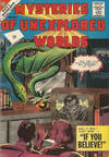 Cover for Mysteries of Unexplored Worlds (Charlton, 1956 series) #27 [UK price]