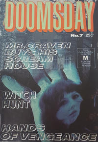 Cover Thumbnail for Doomsday (K. G. Murray, 1972 series) #7