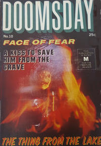 Cover Thumbnail for Doomsday (K. G. Murray, 1972 series) #10