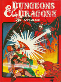 Cover Thumbnail for Dungeons & Dragons Annual (World Distributors, 1985 series) #1986