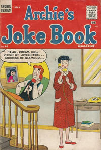 Cover Thumbnail for Archie's Joke Book Magazine (Archie, 1953 series) #46 [British]