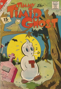 Cover Thumbnail for Timmy the Timid Ghost (Charlton, 1956 series) #31 [15 cent price]