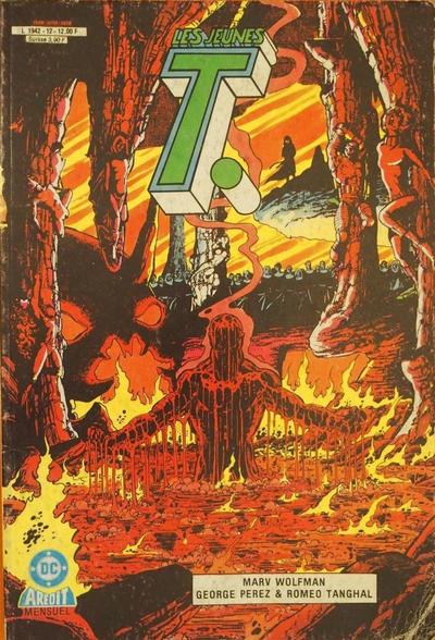 Cover for Les Jeunes T. (Arédit-Artima, 1985 series) #12