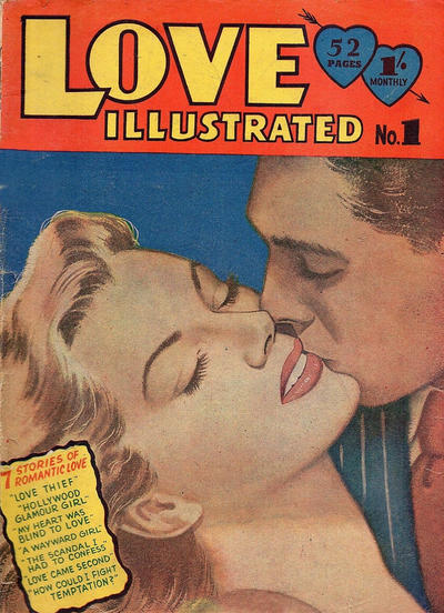 Cover for Love Illustrated (Young's Merchandising Company, 1951 series) #1