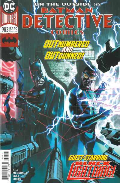 Cover for Detective Comics (DC, 2011 series) #983
