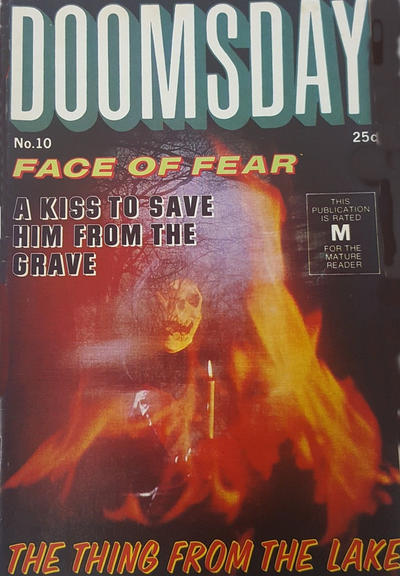 Cover for Doomsday (K. G. Murray, 1972 series) #10