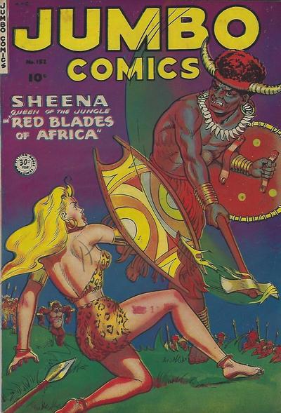 Cover for Jumbo Comics (Superior, 1951 series) #152