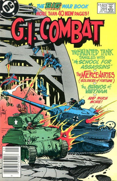 Cover for G.I. Combat (DC, 1957 series) #281 [Canadian]