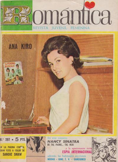 Cover for Romantica (Ibero Mundial de ediciones, 1961 series) #297