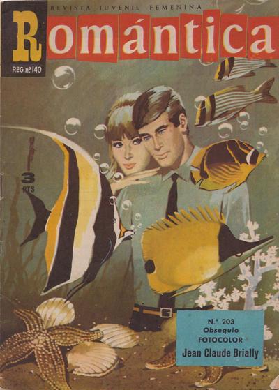 Cover for Romantica (Ibero Mundial de ediciones, 1961 series) #203