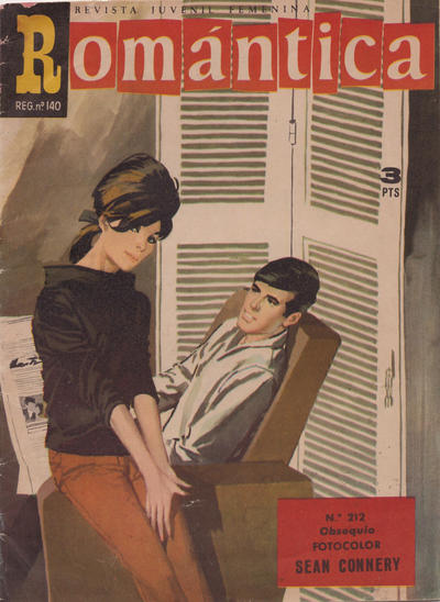 Cover for Romantica (Ibero Mundial de ediciones, 1961 series) #212