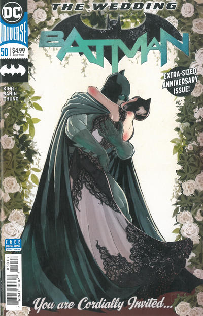 Cover for Batman (DC, 2016 series) #50 [Blank Sketch Variant Cover]