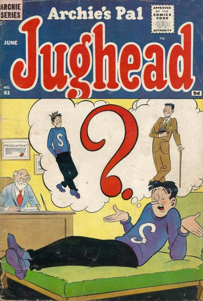 Cover for Archie's Pal Jughead (Archie, 1949 series) #61 [British]