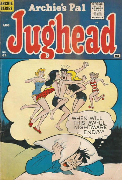 Cover for Archie's Pal Jughead (Archie, 1949 series) #63 [British]